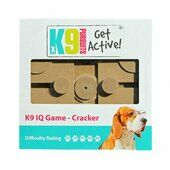 K9 Pursuits Iq Game Cracker Dog Toy