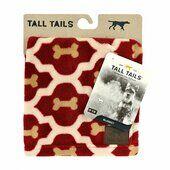 Tall Tails Pet Fleece Blanket Red Bone 76 x 102cm Medium