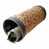 Snuggles Carrot Fabric Tunnel 50 x 22 x 22cm