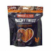 5 x 345g Chewy Bone Chewy Twist Value Pack Dog Treats 15 pieces