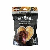 9 x 120g Rosewood Magic Bone Magic Roll Dog Treats 2 Pieces