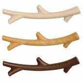 The Chew Factory Mixed Fibre Plasticks Dog Toys 3 Pack