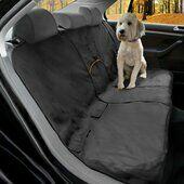 Kurgo Wander Bench Seat Cover Charcoal