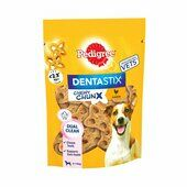 5 x 68g Pedigree Dentastix Chewy Chunx Mini Dog Treat Chicken Flavour