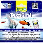 Tetra Pond Test Strip 6 In 1
