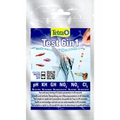Tetra Test Strips 6 in 1 - Strips 10