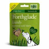 8 x 90g Forthglade Hand Baked Grain Free Soft Bite Dog Treats Lamb With Botanicals