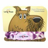 Long Paws Dog Bandana Purple Geo 25 x 25cm