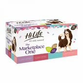 32 x Hilife It's Only Natural Dog Pouch The Marketplace One Multipack 150g