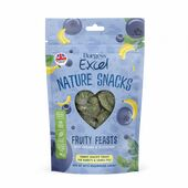 Burgess Excel Nature Snacks Fruity Feasts With Banana & Blueberry 60g