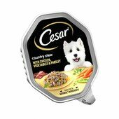 14 x Cesar Country Stew With Chicken Vegetables & Parsley In Gravy Dog Food 150g