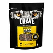 7 x Crave Protein Bar With Chicken Dog Treats 76g