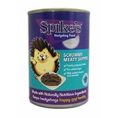 12 x Spike's Scrummy Meaty Supper Hedgehog Food Can 395g