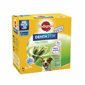 4 x Pedigree Dentastix Fresh Daily Dental Chews Small Dog Sticks 35