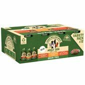 12 x James Wellbeloved Adult Dog Can Turkey Lamb & Chicken In Loaf 400g