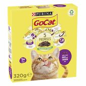 6 x Go-cat Adult Cat Food With Chicken & Duck 320g