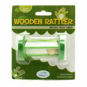 HappyPet Natural Wood Chews Wooden Rattler Circle