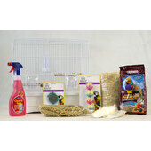 The Pet Express Small Bird Canary & Finch Starter Kit