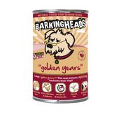 6 x 400g Barking Heads Golden Years Wet Senior Dog Food