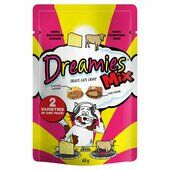 8 x 60g Dreamies Cat Treats Mix With Beef & Cheese