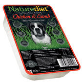 18 x 390g Naturediet Chicken And Lamb With Vegetables & Rice