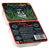 18 x 280g Naturediet Chicken & Lamb With Vegetables & Rice Wet Dog Food