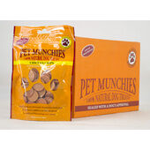 8 x Pet Munchies Chicken Chips Natural Dog Treats 100g