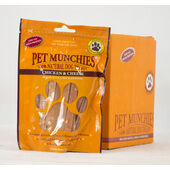 Pet Munchies Natural Chicken & Cheese Dog Treats