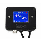 iSTAT Pulse Plus Digital Reptile Thermostat Black
