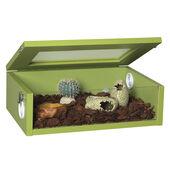 Monkfield Terrainium Small Reptile Vivarium - 18 Inch Green