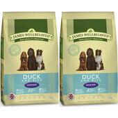 2 x 7.5kg James Wellbeloved Multibuy Duck & Rice Senior Dog Food