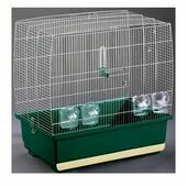 Imac Irene 4 Chrome Small Bird Cage 59 x 38 x 59cm
