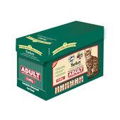 4 x James Wellbeloved Turkey Adult Wet Cat Food - 12 x 85g