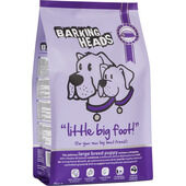 Barking Heads Little Big Foot Large Breed Puppy Food