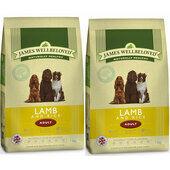 2 x 15kg James Wellbeloved Lamb & Rice Adult Dry Dog Food