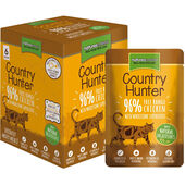 18 x Country Hunter Chicken & Heart Adult Wet Cat Food 85g