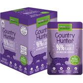 18 x Country Hunter Turkey & Rabbit Adult Wet Cat Food 85g