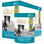 6 x 400g Burns Penlan Farm Complete Lamb Brown Rice & Veg Wet Dog Food Pouch