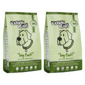 2 x 12kg Barking Heads Big Foot Bad Hair Day Adult Large Breed Lamb Dog Food Multibuy