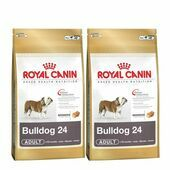 2 x 12kg Royal Canin Bulldog 24 Multi-Buy Adult Dog Food