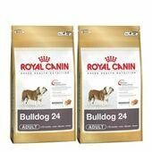 2 x 12kg Royal Canin Bulldog 24 Multi-Buy Adult Dog Food