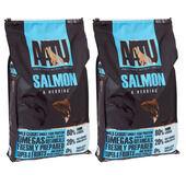 2 x 10kg AATU 80/20 Salmon & Herring Dry Dog Food Multibuy