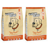2 x 12kg Barking Heads Multi Buy Big Foot Dry Dog Food - Chicken