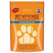 Pet Munchies Natural Ocean White Fish Dog Treats - 100g