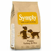 Symply Puppy Turkey & Rice Dry Dog Food
