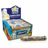 40 x Johnson's Treat2eat Budgie/parakeet Honey Bar 35g