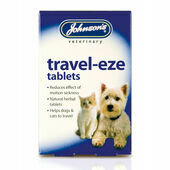 Johnson's Dog & Cat Travel-eze 24 Tablets