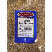 Johnston & Jeff Mixed Poultry Corn 60/40 Mix 20kg