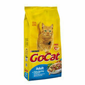 Purina Go-Cat Complete Tuna, Herring And Veg Adult Cat Food - 10kg x 3