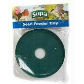 Supa Wild Bird Seed Feeder Tray Green